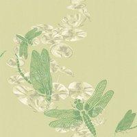 Barneby Gates Wallpapers Dragonfly Apple Green, BG0600202