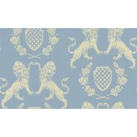 Barneby Gates Wallpapers Heraldic Lion Wedgewood Blue , BG1100101