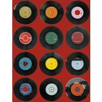 Ella Doran Wallpapers Sevens Red, Sevens Red