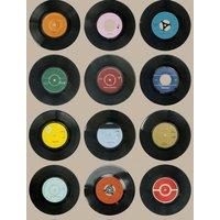 Ella Doran Wallpapers Sevens Taupe, Sevens Taupe