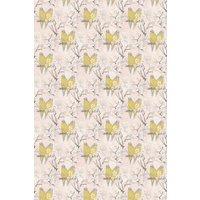 Belynda Sharples Fabric Linen Union Budgie 01, BUDGIE 01