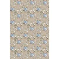 Belynda Sharples Fabric Linen Union Budgie 02, BUDGIE 02
