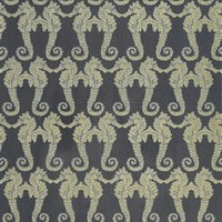 Barneby Gates Wallpapers Seahorse Charcoal, BG1400101