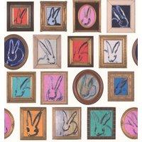 Lee Jofa Wallpapers Hunt Slonem Bunny Wall, GWP-3410.101.0
