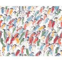 Lee Jofa Wallpapers Hunt Slonem Finches, GWP-3412.954.0