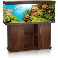 Juwel Rio 400 Aquarium and Cabinet Dark Wood