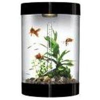 BiUbe Aquarium with Intelligent LED Lighting System - Black
