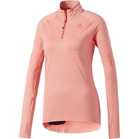Adidas Womens Supernova 1/2 Zip Long Sleeve Running Tops
