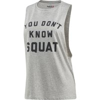 Reebok Womens Dont Know Squat Gym Tank Running Singlets