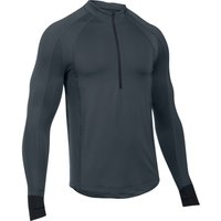 Under Armour ColdGear Reactor Run Half Zip   Long Sleeve Running Tops
