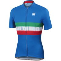 Sportful Italia Jersey Short Sleeve Cycling Jerseys