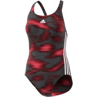 adidas Womens Infinitex Essence Flare Swimsuit Black/Pin Adult Swimwear