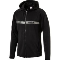 Puma Active Tec Stretch Full Zip Gym Hoody Long Sleeve Running Tops