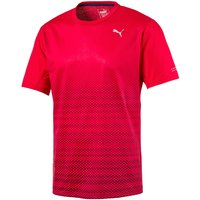 Puma Graphic S/S Tee Red 2XL Running Short Sleeve Tops