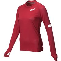 Inov-8 Womens AT/C Base LS Pink XL Long Sleeve Running Tops