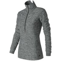 New Balance Womens In Transit Half Zip Long Sleeve Running Tops