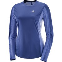 Salomon Womens Agile LS Tee Long Sleeve Running Tops