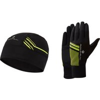 Ronhill Beanie and Glove Set Running Headwear