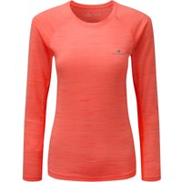 Ronhill Womens Momentum L/S Tee Long Sleeve Running Tops