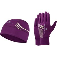 Ronhill Womens Beanie and Glove Set Running Headwear