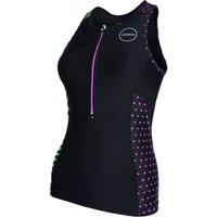 Zone3 Womens Activate+ Top Wiggle Exclusive Stripes Tri Tops