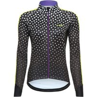 dhb Blok Womens Windproof Softshell - Polka Cycling Windproof Jackets