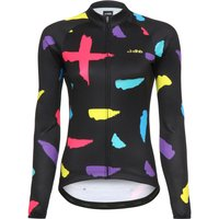 dhb Blok Womens Thermal Long Sleeve Jersey - Strokes Long Sleeve Cycling Jerseys