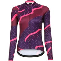 dhb Blok Womens Thermal Long Sleeve Jersey - Strata Long Sleeve Cycling Jerseys