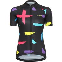 dhb Blok Womens Short Sleeve Jersey - Strokes Short Sleeve Cycling Jerseys