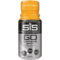 Science in Sport GO Caffeine Shot 150mg (12x60ml)   Energy & Recovery Drink