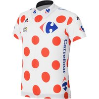 Le Coq Sportif Kids TDF Replica King of the Mountains Jersey (201 Short Sleeve Cycling Jerseys