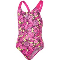 Speedo Girl's Comet Crush Allover Splashback Swimsuit   One Piece Swimsuits