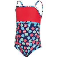 Zoggs Girls Appletizer Classic Back Swimsuit Childrens Swimwear