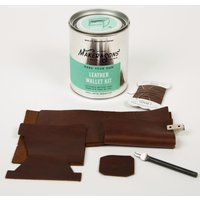 Mens Society DIY Leather Wallet Kit Gift Items