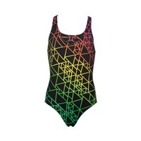 Arena Girls Reticulum Swimsuit Childrens Swimwear