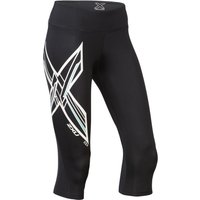 2XU Women's Ice X Mid-Rise Compression 3/4 Tights Compression Base Layers