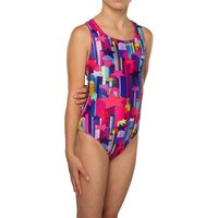 Maru Girls Stargazer Sparkle Apollo Back Childrens Swimwear