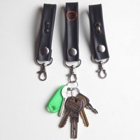 Recycle and Bicycle Recycled Inner Tube Lanyard Keyring Gifts