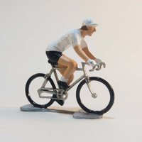 Cycling Souvenirs Mini Cyclist White Jersey Gift Items