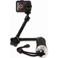 Veho Muvi 3 Way Monopod with Extended Arm Helmet Cameras