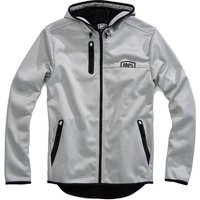 100% Mission Hooded Softshell Zip Jacket Cycling Thermal Jackets