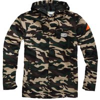 100% Apache Hooded Snap Jacket Casual Jackets