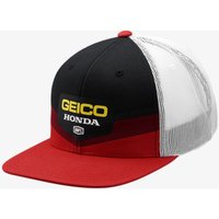 4fb7567fbcd Offer  100% Geico Honda Gunner Trucker Hat Casual Headwear