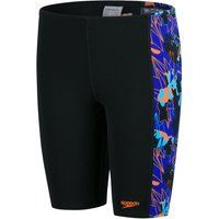 Speedo Allover Panel Jammer   Adult Swimwear
