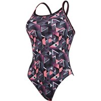 Zoggs Chaos Piped Sprintback   Adult Swimwear