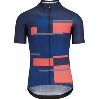 Assos Fast Lane Anthracite Jersey (Navy Crimson) Jerseys