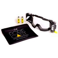100% Forecast Roll-Off Film System Cycle Goggles