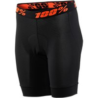 100% Womens Crux Liner Short Lycra Cycling Shorts