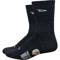 DeFeet Woolie Boolie 2 4 Cuff Socks Cycling Socks