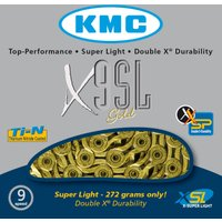 KMC X9-SL Gold 9 Speed Chain Chains